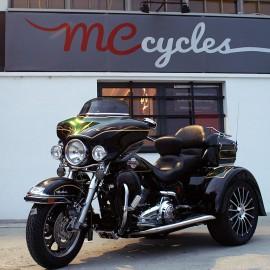 Trike ricavato da Electra Glide Ultra Classic